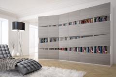 Шкаф для книг.Распашные дверки с плёнкой МДФ