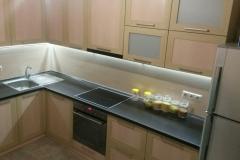 Кухня угловая с фасадми в рамке МДФ