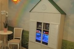 Домик- шкаф для детской комнаты