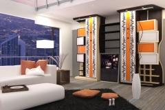 Мебель по индивидуальному заказу для гостиной