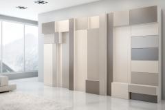 Современная и стильная мебель для гостинной Шкафы без ручек, на отталкивание