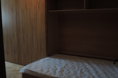 Кровать встроенная в шкаф купе