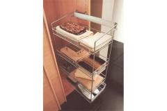 Выдвижные системы для хранения вещей с боковым креплением