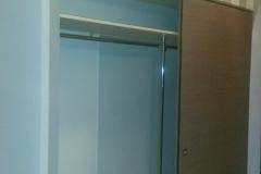Встроенные раздвижные двери для шкафа в нишу и встроенные раздвижные двери на андресоль
