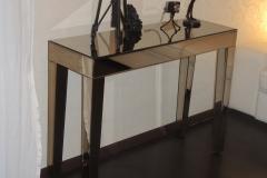 зеркальная консоль (зеркало бронза)